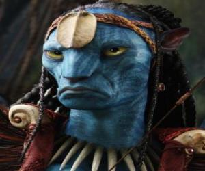 Eytukan, Neytiri father and leader of Omaticaya. puzzle