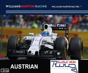 F. Massa, G.P Austria 2015 puzzle