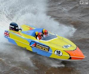 F1 Powerboat puzzle