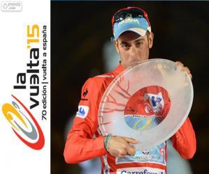 Fabio Aru 2015 Vuelta a España puzzle