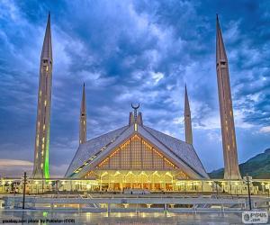 Faisal Mosque, Pakistan puzzle