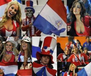 Fans of Paraguay, Argentina 2011 puzzle
