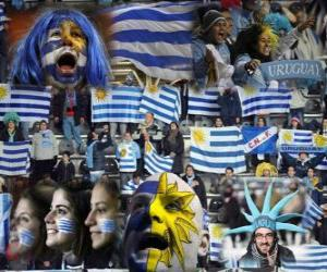 Fans of Uruguay, Argentina 2011 puzzle