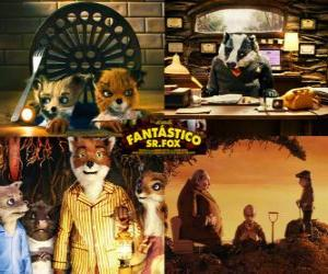 Fantastic Mr. Fox puzzle