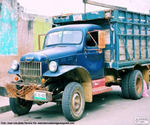Fargo truck, 1947 puzzle