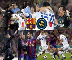 Fc Barcelona 1 - FC Internazionale Milano 0 puzzle