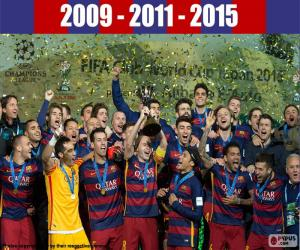 FC Barcelona, 2015 FIFA Club World Cup puzzle