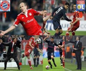 FC Bayerrn Munchen 1 - Olympique Lyonnais 0 puzzle