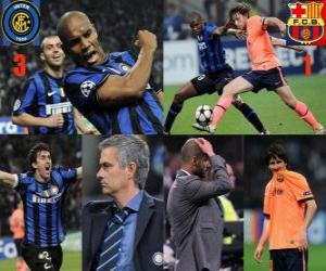 FC Internazionale Milano 3 - Fc Barcelona 1 puzzle