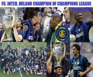 FC. Internazionale Milano Champion of Champions League 2009-2010 puzzle