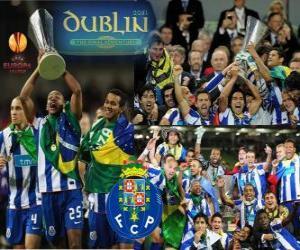 FC Porto, champion of the UEFA Europa League 2010-2011 puzzle