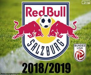 FC Salzburg, Bundesliga 2019 puzzle