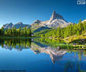 Federa Lake, Italy puzzle