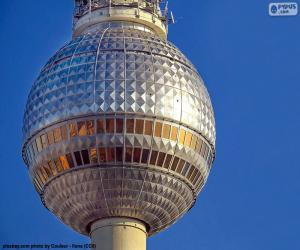 Fernsehturm in Berlin, Germany puzzle