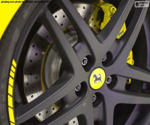 Ferrari rim puzzle