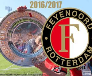 Feyenoord, champion 2016-2017 puzzle