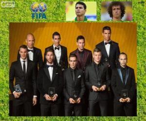 FIFA / FIFPro World XI 2014 puzzle