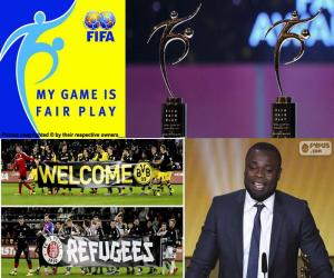 FIFA Fair Play Award 2015 puzzle