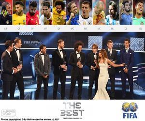 FIFA/FIFPro World11 2016 puzzle
