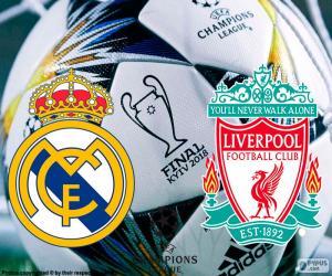 Final Champions League 2018 puzzle