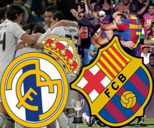 Final Copa del Rey 2010-11, Real Madrid - FC Barcelona puzzle