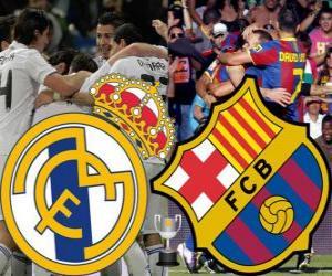 Final Copa del Rey 2010-11, Real Madrid - FC Barcelona puzzle