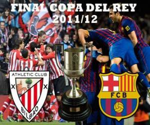 Final Cup of King 2011-12, Athletic Club of Bilbao - FC Barcelona puzzle