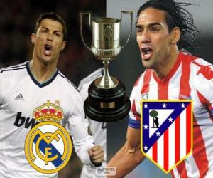 Final Cup of King 2012-13, Real Madrid - Atletico Madrid puzzle