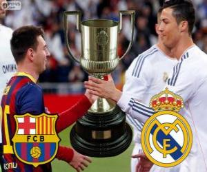 Final Cup of King 2013-14, F.C Barcelona - Real Madrid puzzle