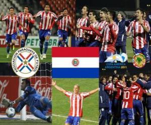 Finalist Paraguay, Copa América Argentina 2011 puzzle