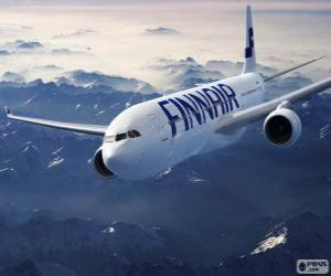 Finnair, airline in Finland puzzle