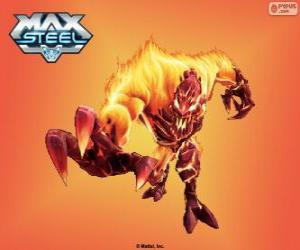 Fire Elementor, Max Steel puzzle