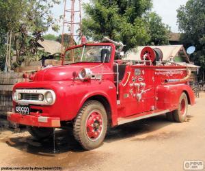 Fire truck, Burma puzzle