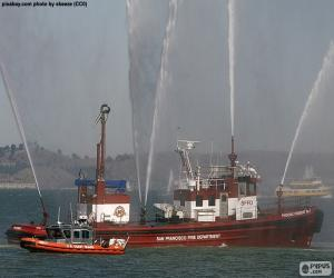 Fireboat puzzle