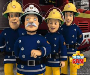 Firefighters of Pontypandy puzzle