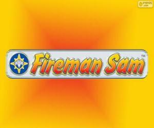 Fireman Sam logo puzzle