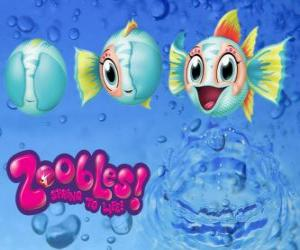 Fish, Zoobles from Seagonia puzzle