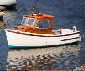 Fishing boat puzzle