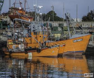 Fishing Boats puzzle