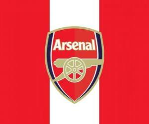 Flag of Arsenal FC puzzle