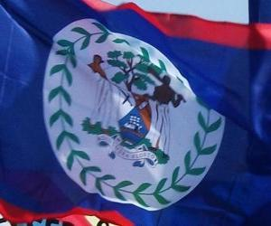 Flag of Belize puzzle