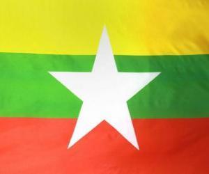 Flag of Burma puzzle