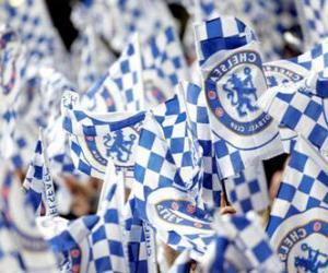 Flag of Chelsea F.C. puzzle