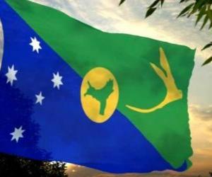 Flag of Christmas Island puzzle