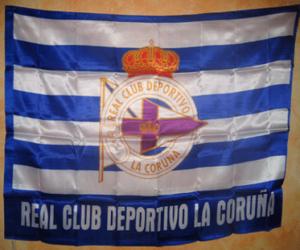 Flag of Deportivo de La Coruña puzzle