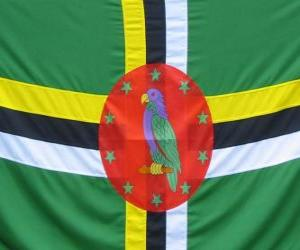 Flag of Dominica puzzle