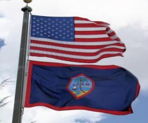 Flag of Guam puzzle