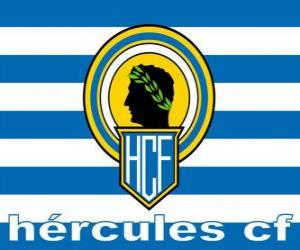 Flag of Hércules CF puzzle
