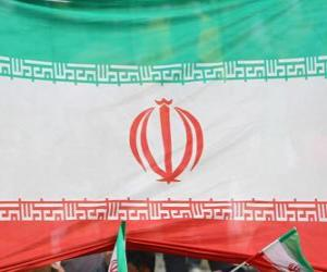 Flag of Iran puzzle