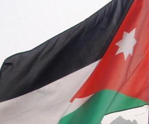 Flag of Jordan puzzle